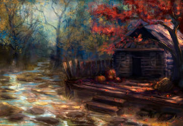 forest house by TamikaProud