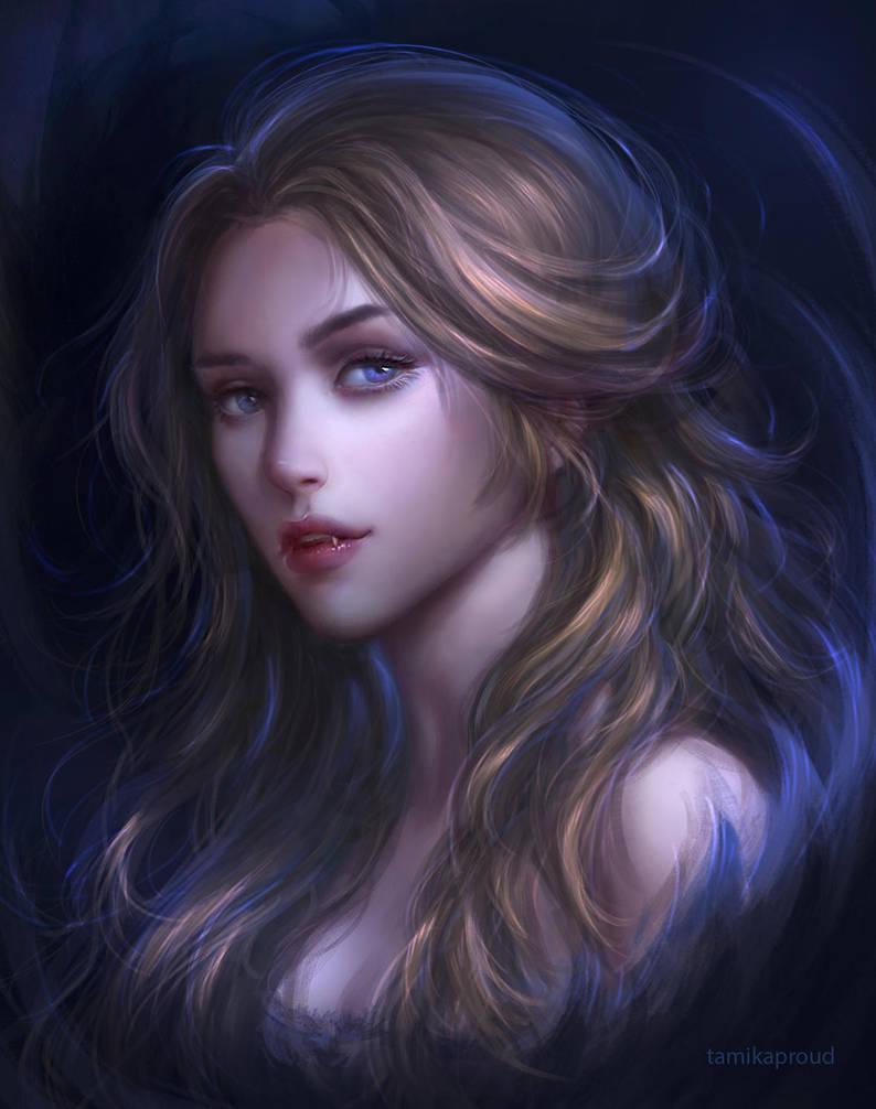 vampire by TamikaProud