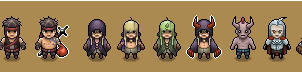 RPG sprites +all of them+ by RedKnight91