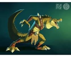 Manhunter Croc by Zukitz