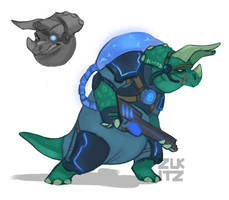 Dino Design by Zukitz
