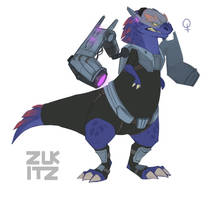T Rex 2 by Zukitz