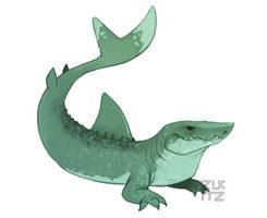 Sharkodile by Zukitz