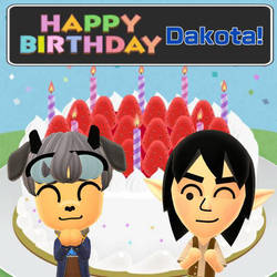 Happy Birthday, Dakota! by GoldRaibowMario2