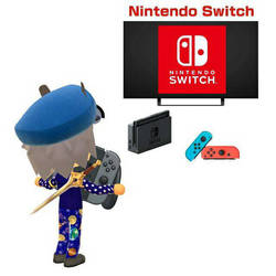 Happy 1st Anniversary Nintendo Switch! by GoldRaibowMario2