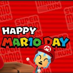 Happy Mar10 (Mario) Day by GoldRaibowMario2