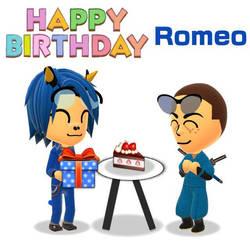 Happy Birthday, Romeo! by GoldRaibowMario2