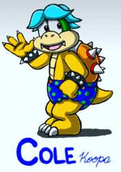 Cole Koopa (Ver. 2) by GoldRaibowMario2