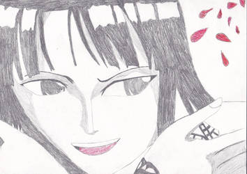 Nico robin drawing by me by naruXhinata