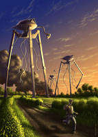 War of the Worlds by pmoodie