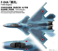 JASDF F-04A - 8th Hikotai by Nyandgate