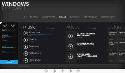 Windows Explorer for Windows 8 by uibox