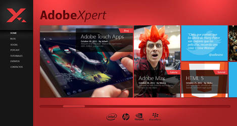 Adobexpert Website by uibox