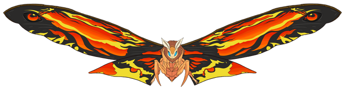 Mothra (Legendary Pictures) LC by LiamCampbell