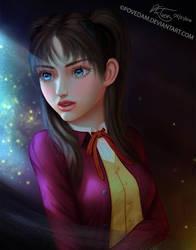 Moonlight Solace - Rin Tohsaka by PovedaM