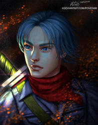 Ashes of Time - Trunks by PovedaM