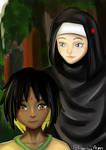 Kamuda and Hilal [CE] by KawaiiAeon