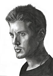 Drawing from Jensen Ackles by KriszTianOlah