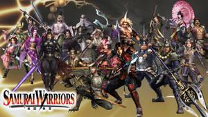 Samurai Warriors 1 Roster by The4thSnake