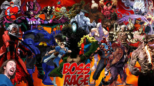 Boss Rage by The4thSnake