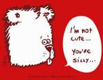 no cute bear by cifaela