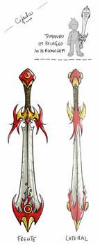 Blade of flames by cifaela