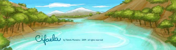 Blue Lake Concept by cifaela