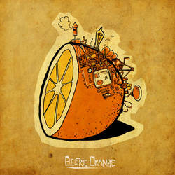 Electric Orange by Tlenon