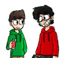 Jack and Mark | Septiplier/Eddsworld by Puppyrelp