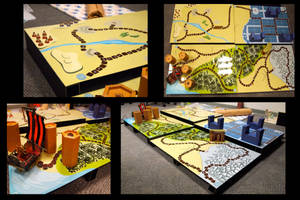 Time Weave board game by Llewxam888