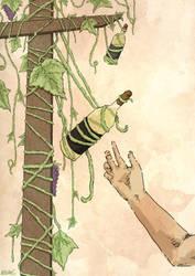 Wine Poster by Llewxam888