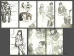 Hong Kong Sketches by Llewxam888