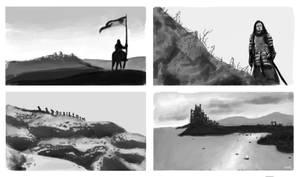 Game of Thrones Screencap Studies III by Llewxam888