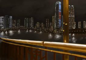Hong Kong - Tsing Yi Study by Llewxam888