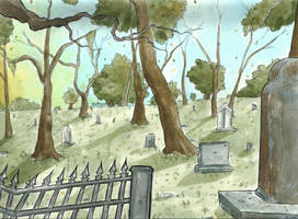Day Graves by Llewxam888