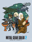 MGS2: Sons of Liberty by Llewxam888