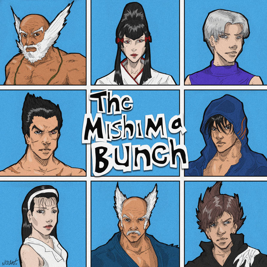THE MISHIMA BUNCH by Llewxam888