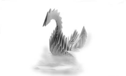Swans nest by TheodorAndersson