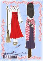 Kimono Paper doll Clothes 3 by j-nury