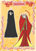 Kimono Paper doll Clothes 7 by j-nury