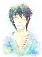 Soft Blue by Rei-Yaka