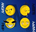 smiley_emotikons by MJ-designer