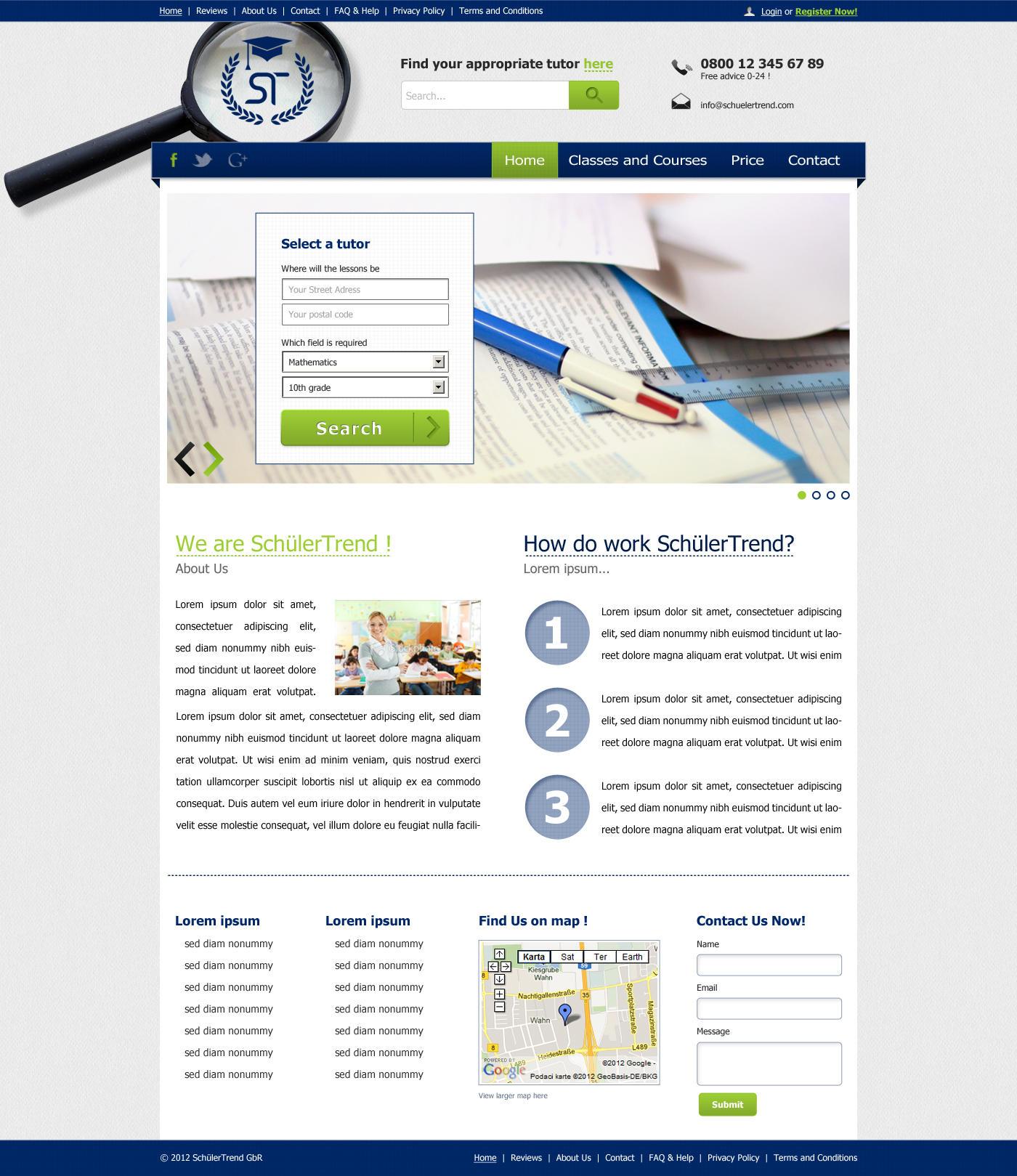 SchuelerTrend Webdesign by MJ-designer