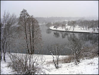 It's snowing again by shrekutza