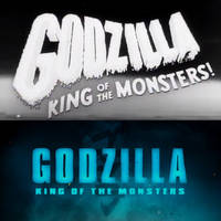 Godzilla King of the Monsters Movie Title by MnstrFrc