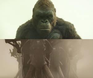 Kong vs Oliphants by MnstrFrc