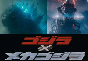 Godzilla Against MechaGodzilla by MnstrFrc