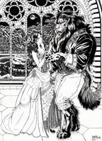 Beauty and the Beast by garnabiuth