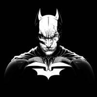 Batman The Dark Knight Rises Broken Mask by garnabiuth