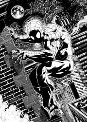 Spiderman Spider-sense by garnabiuth